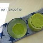 A Very Green Smoothie