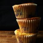 Blueberry & Nectarine Cornbread Muffins
