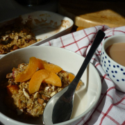 Strawberry & Apricot Baked Oatmeal