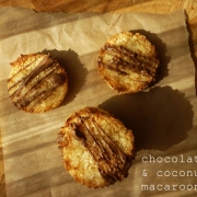 Chocolate & Coconut Macaroons