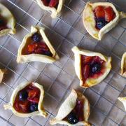 Peach Blueberry Pies
