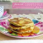 Peach Grapefruit Pancakes