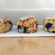 Blueberry and Walnut Scones