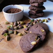 Chocolate Pistachio Biscuits