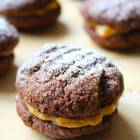 Wholemeal Chocolate & Peanut Butter Biscuits