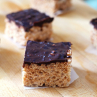 Salted Chocolate Rice Krispie Treats