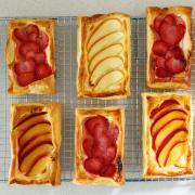 Summer Fruit Pastries