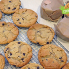 Malted Chocolate Chip Cookies - Cookie Swap!