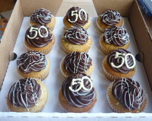 50th Birthday Choc