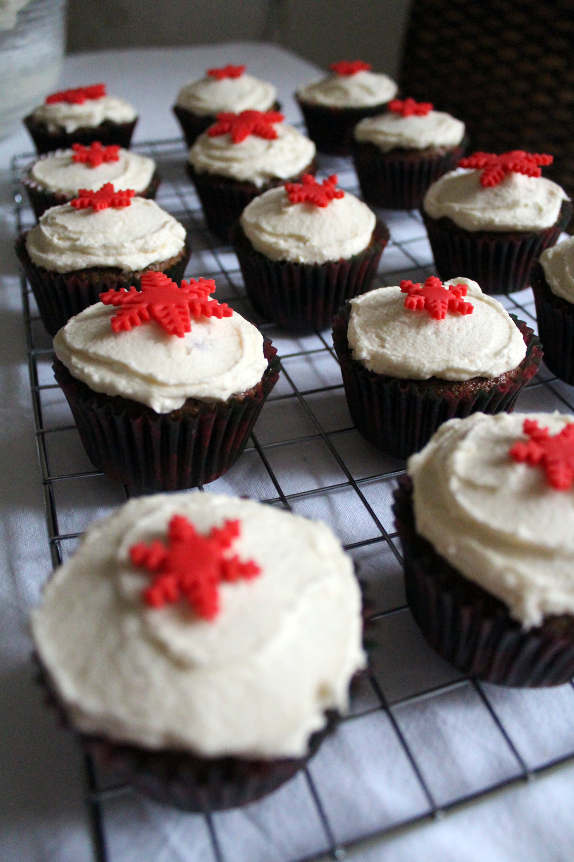 gingerbread cupcakes 7