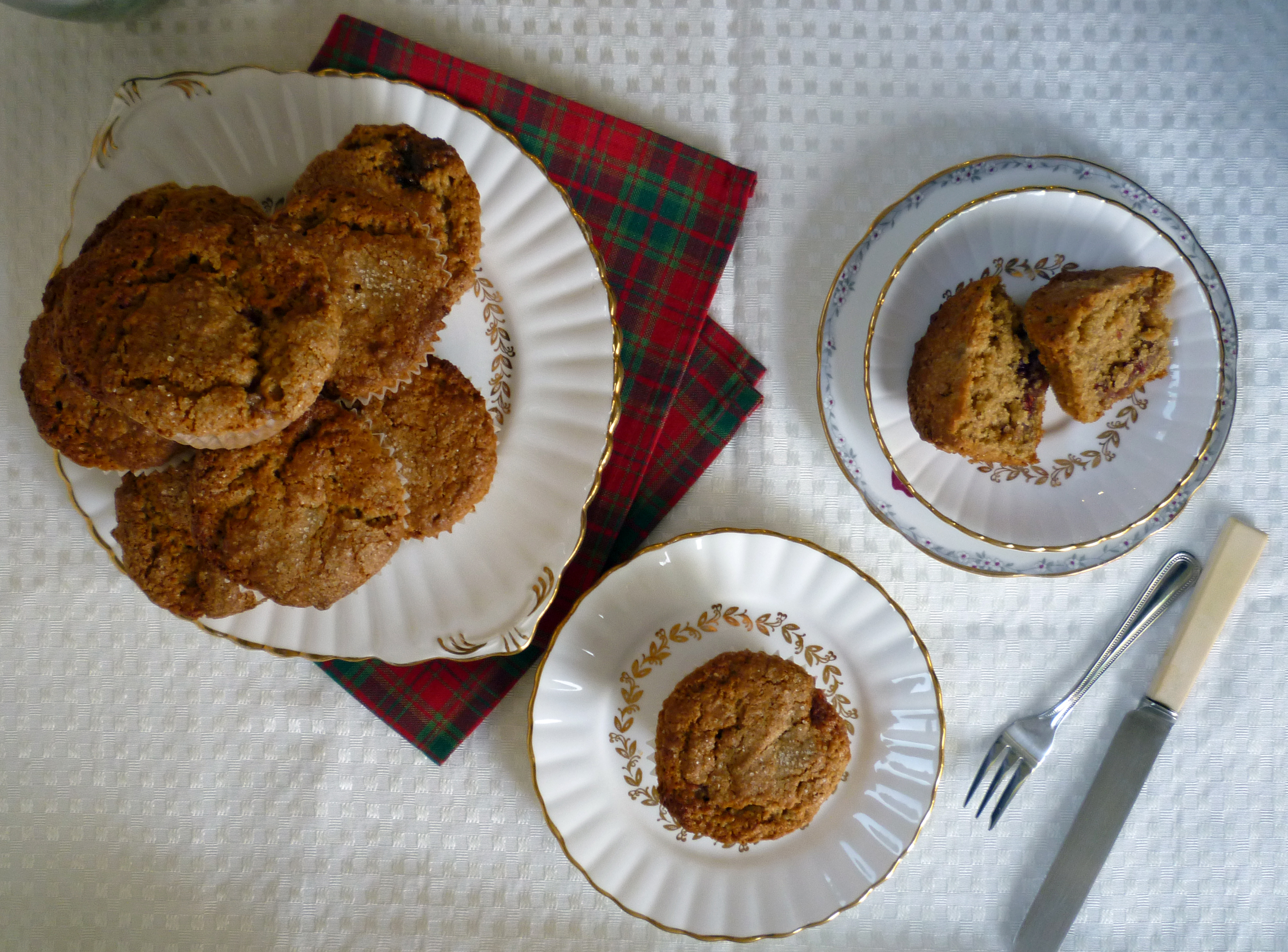 peanut butter and jam muffins 4
