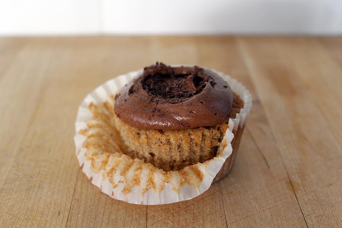 banana chocolate cupcakes 3
