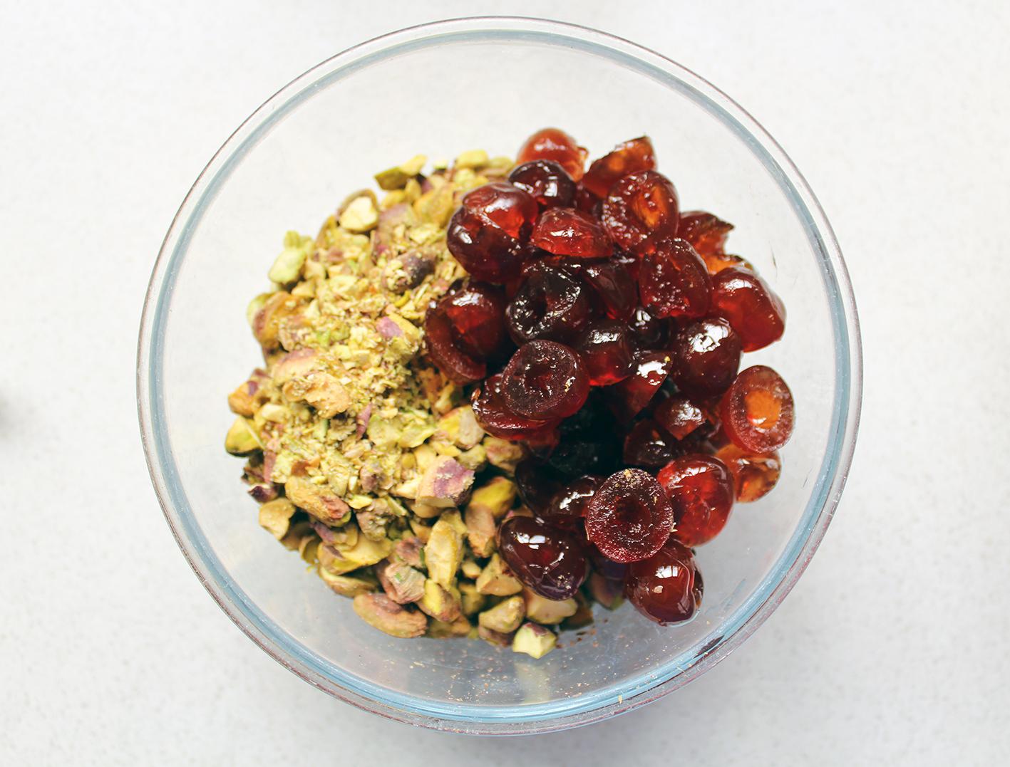 cherry & pistachio biscotti 4