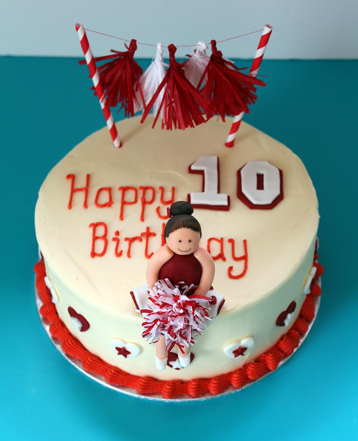 cheerleader cake 1