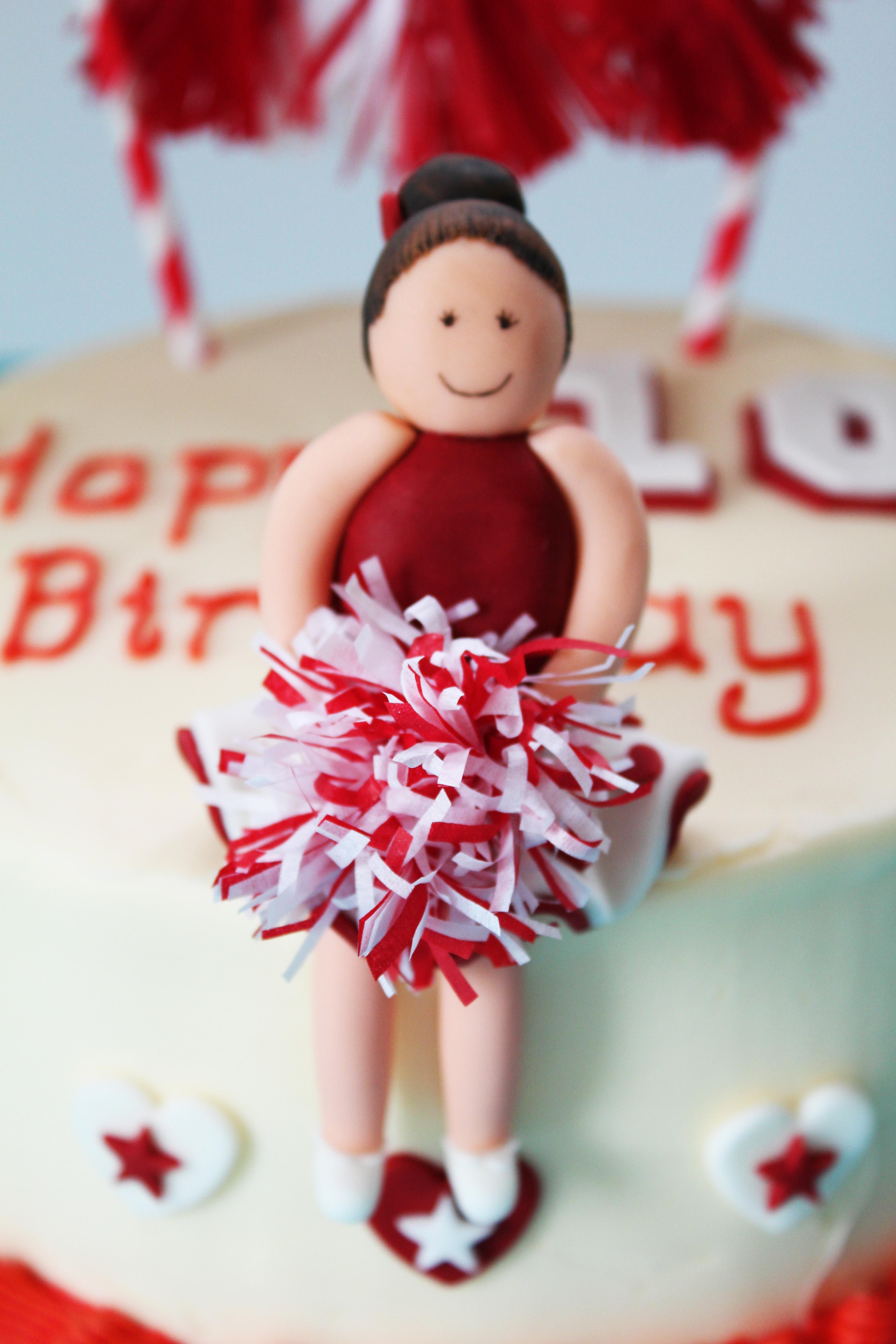 cheerleader cake 6