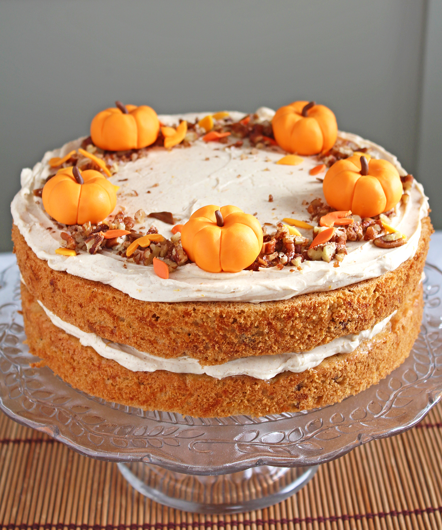 pumpkin orange cake 2