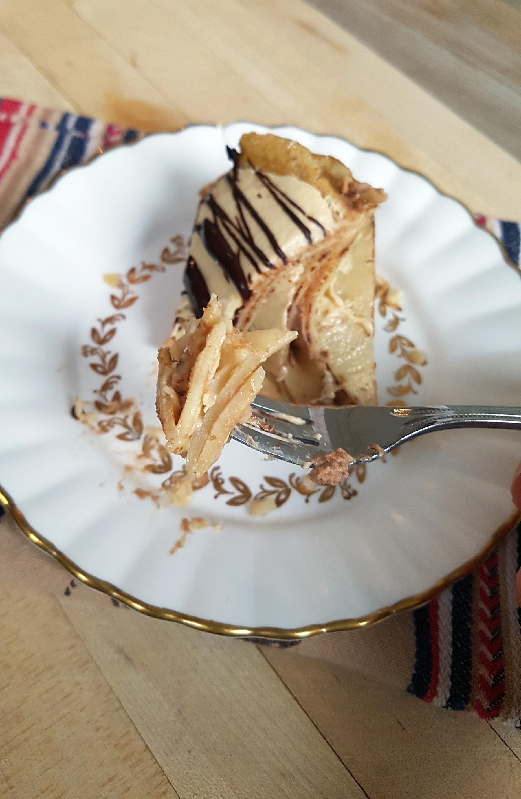 CHOCOLATE PEANUT BUTTER CREPE CAKE (1)