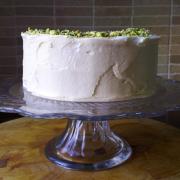 Chocolate & Pistachio Cake