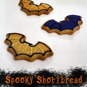 Happy Halloween - Spooky Shortbread