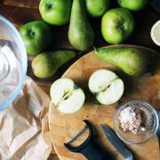 Pear & Apple Pie
