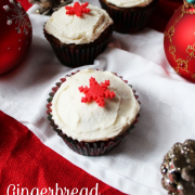 12 Days of Christmas - Gingerbread Cupcakes