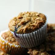 Blueberry & Walnut Muffins