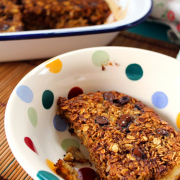 Coconut Choc-Chip Baked Oatmeal