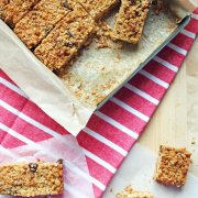 Peanut Butter Granola Bars - Guest Post on The Worktop